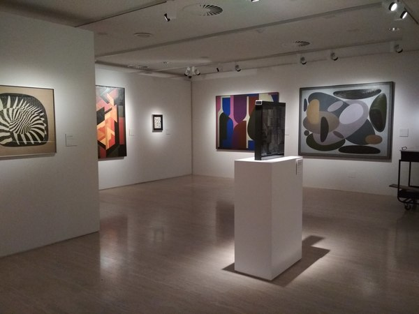 Vasarely's Works in the Thyssen-Bornemisza Museum